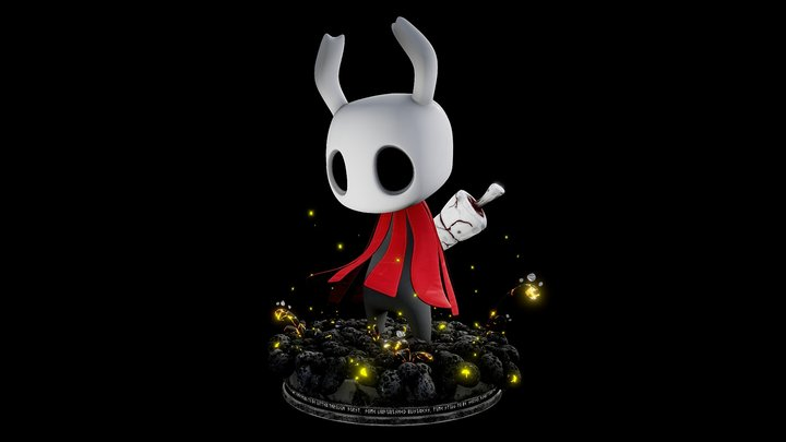 Hollow Knight / Fan Art 3D Model