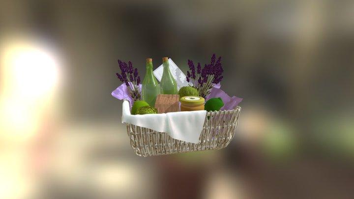 Charlotte's Basket 3D Model