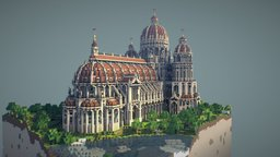 Cathedral 3D Model