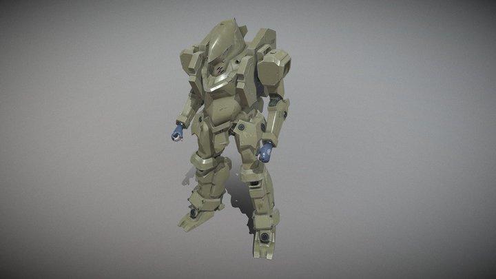TACTICAL ARMOR RAIDEN 3D Model