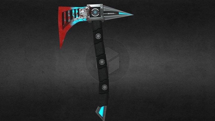 Brawno's  sci fi  BloodAxe 3D Model