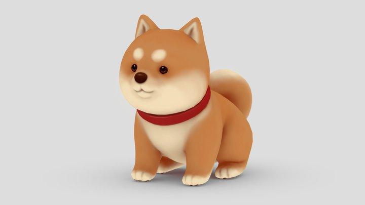 Shiba 3D Model