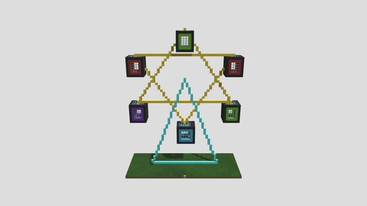 學院的摩天輪 3D Model