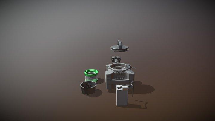 Bait Bunker (Backup) 3D Model