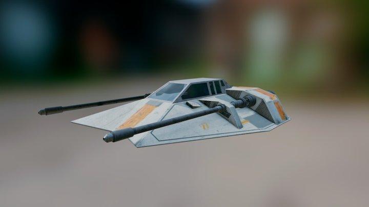 Snowspeeder T-47 3D Model