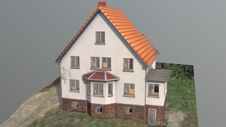Detached Dwelling House, ca. 1935 3D Model