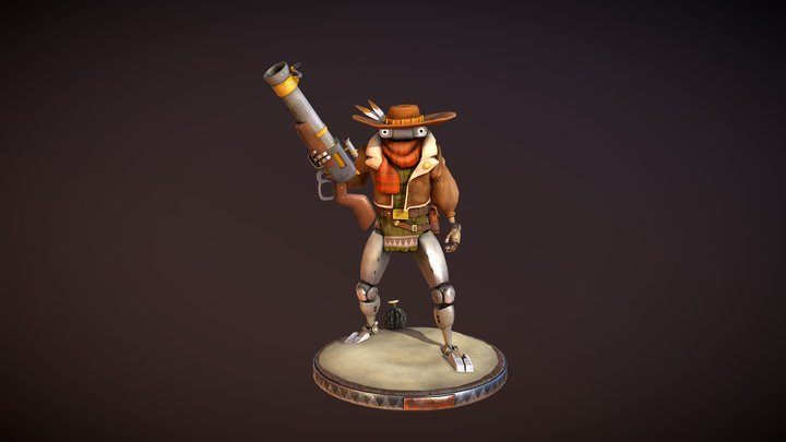 Elroy - Art Station Wild West Challenge 3D Model