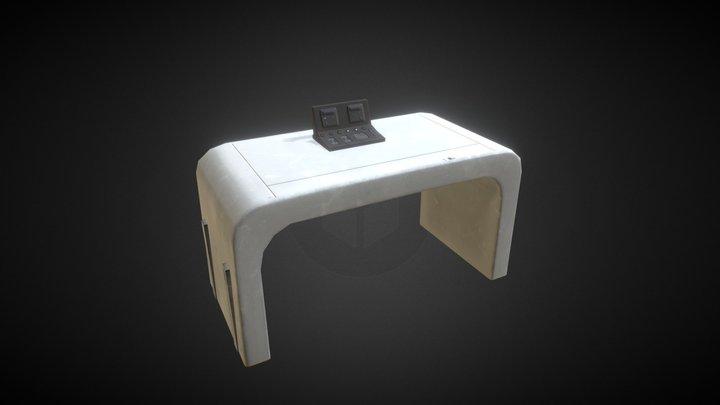 DeskA - Sci-Fi Corridors I 3D Model