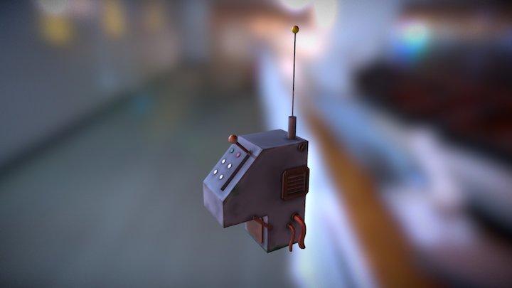 Machine stage 1 3D Model