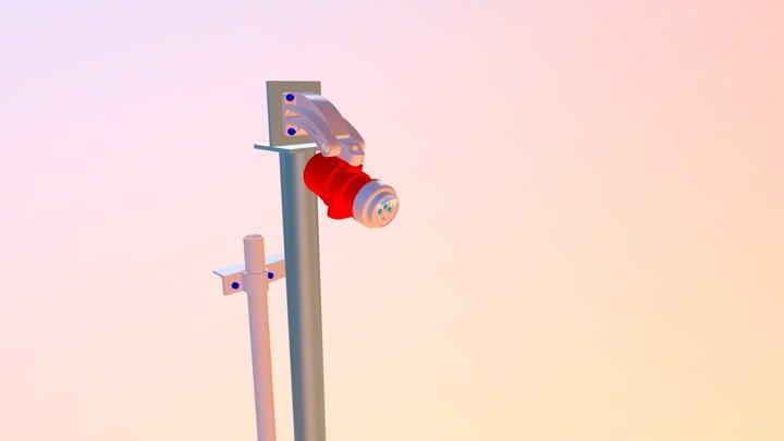 Flame Detector 3D Model