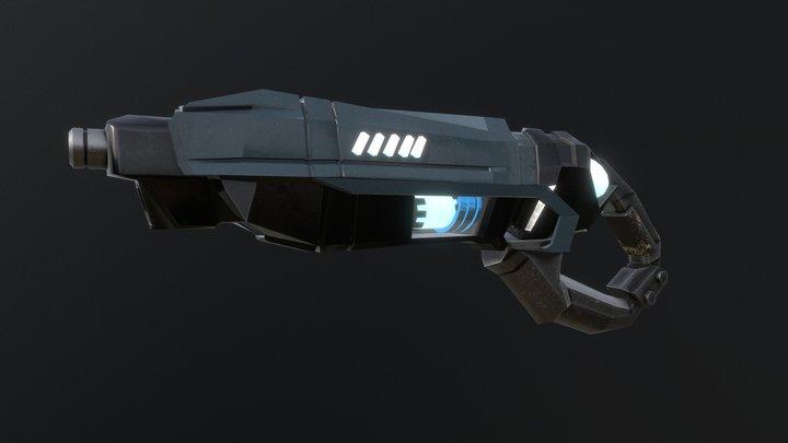 Gun Sci-fi 3D Model