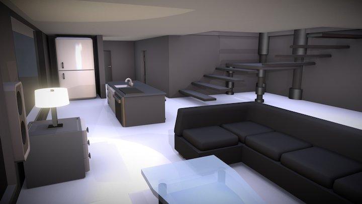 VR Apartment 3D Model