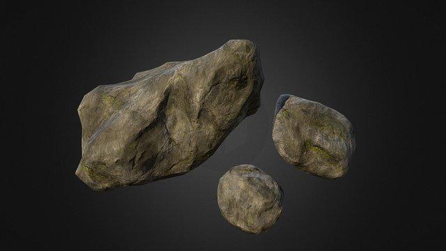 stone_group_1 3D Model