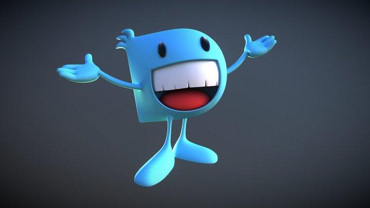 Dentes mascott 3D Model