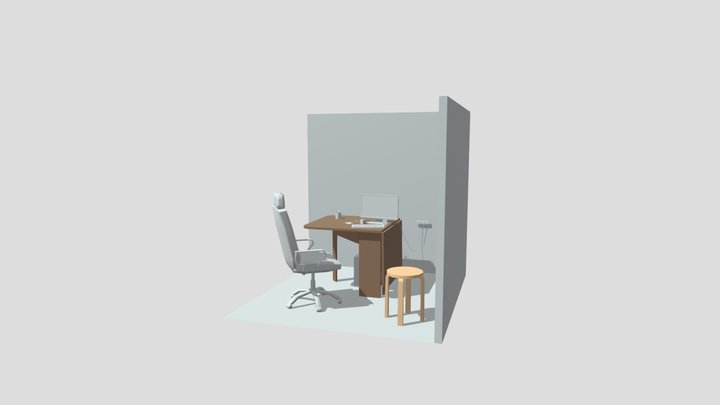 Home work1_10references 3D Model