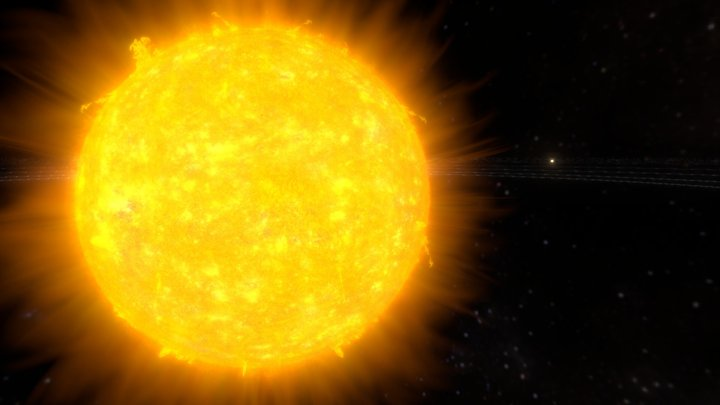 Solar System Animation 3D Model