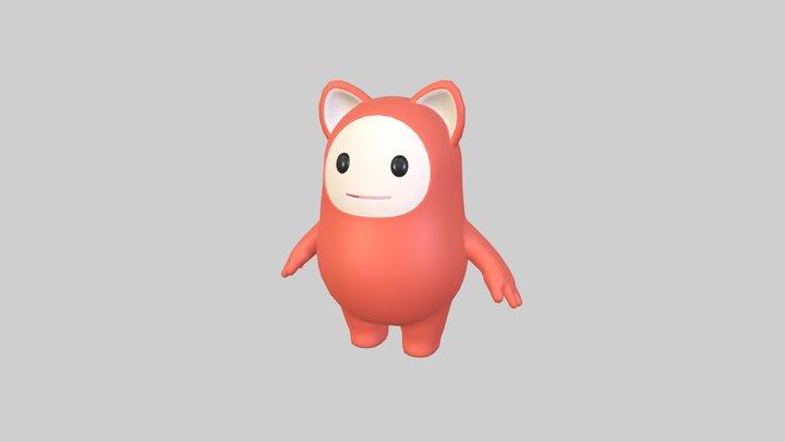 Mascot013 3D Model