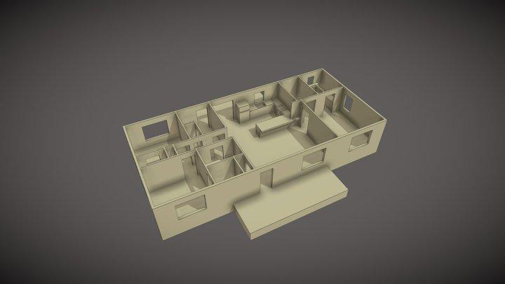 UMC-1456-1-Interior 3D Model
