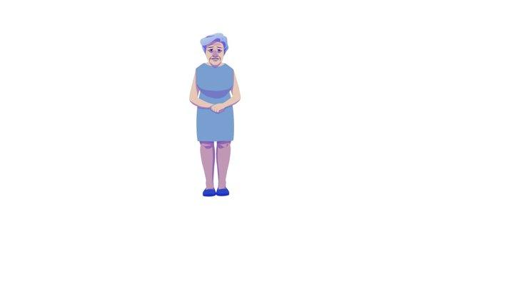 Alzheimer's animation 3D Model