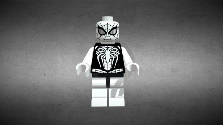 Spider Man lego (Free download) 3D Model