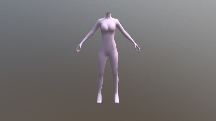 Mona 4-11 3D Model