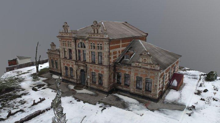 Zaporizhia School #81 3D Model
