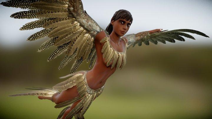 maya flight 3D Model