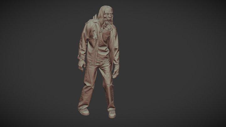 Walker Sculpt (The Walking Dead) 3D Model