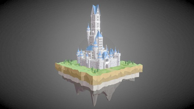 Blueberry castle [WLP series #4] 3D Model