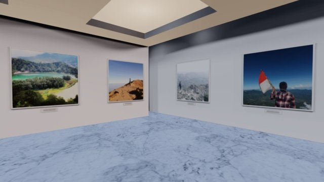 Instamuseum for @walterpinem 3D Model