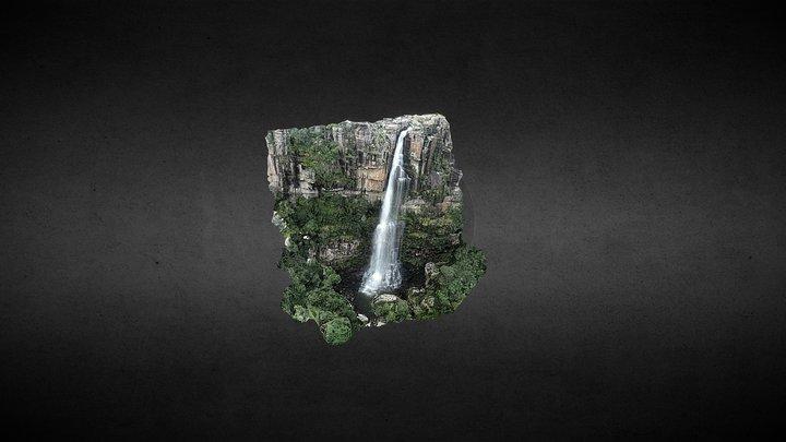 Waterfall Afrika 3D Model