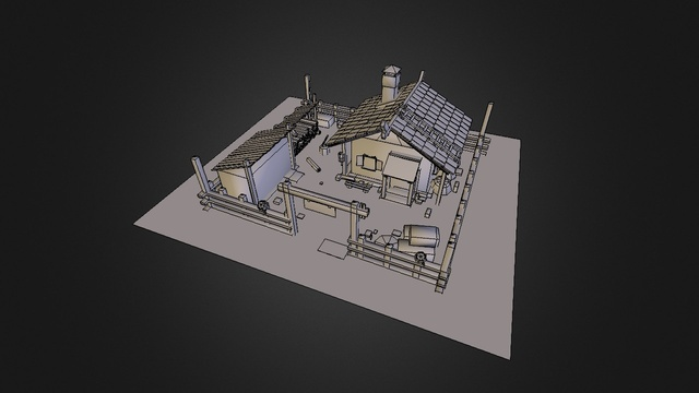 witchhut 3D Model