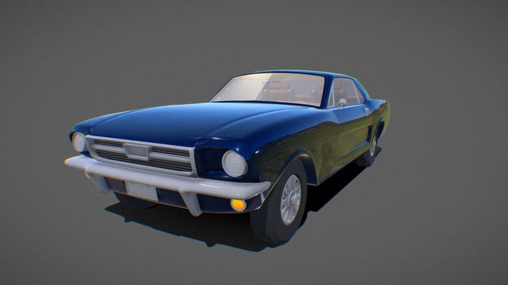 Mustang 288 3D Model
