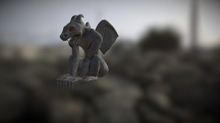Journeyman Project Gargoyle 3D Model