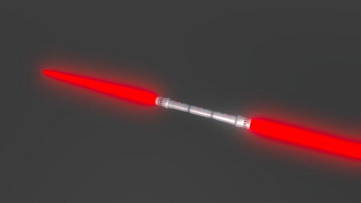 Darth Maul's Light Saber 3D Model