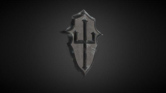 Murloc Knight Sheild 3D Model