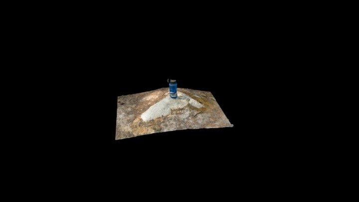 Melted Nalgene 3D Model