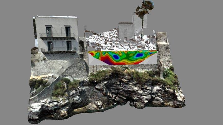 Indagine Elettrica - Laser scanner 3D - Lipari 3D Model