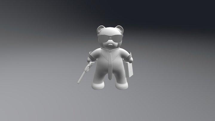Pulp Bear 3D Model
