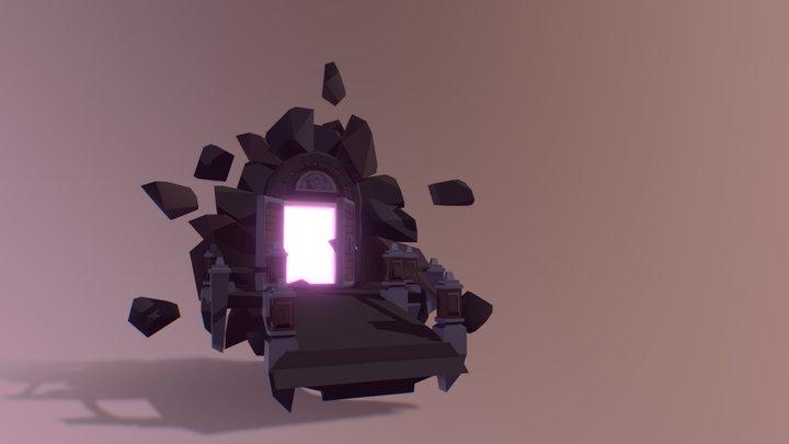 Magic Gate ( Low Poly ) 3D Model