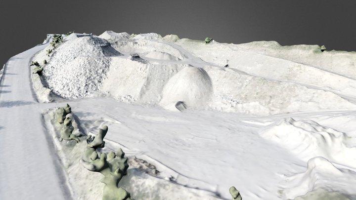 Gravel pit 3D Model