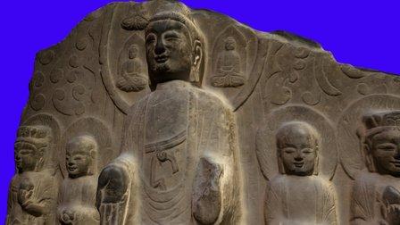 Buddha,Stone(佛石像,北齐) 3D Model