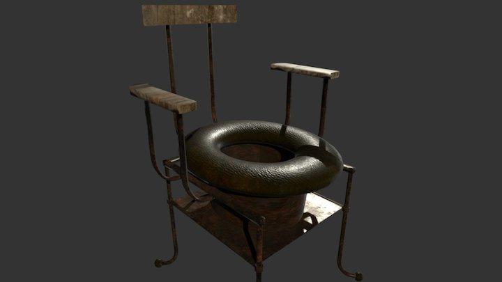 Chamber-pot 3D Model
