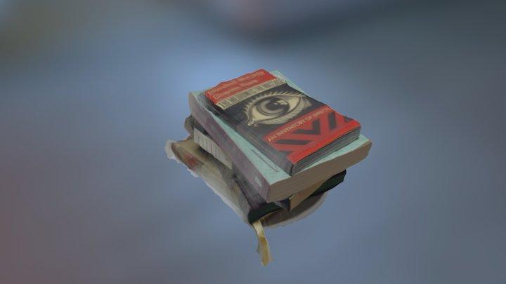 Pile o' Books 3D Model