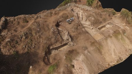 Bouleuterion at Antiochia ad Cragum 3D Model