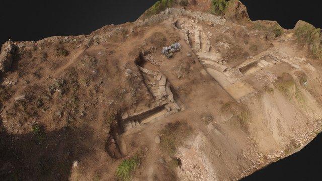 Bouleuterion at Antiochia ad Cragum 3D Model