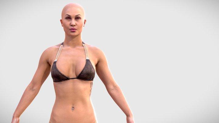 Human Woman Scan - 271FBody 3D Model