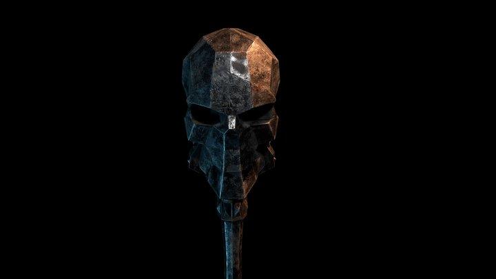 Skull Scepter 3D Model