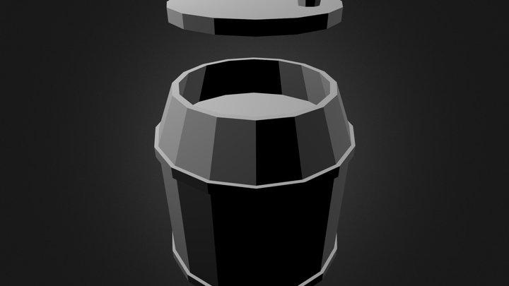 Barrel-render 3D Model