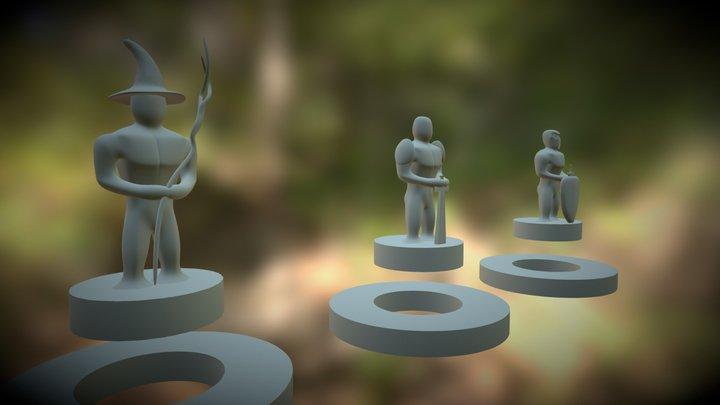 Peça De Tabuleiro_V01 3D Model